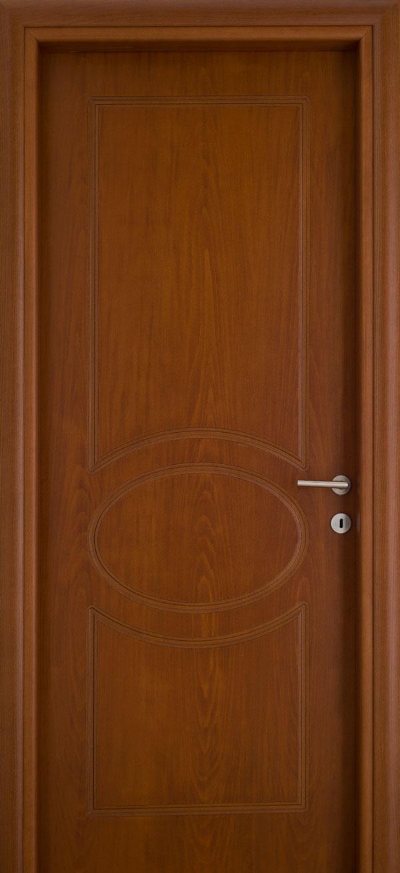 Εσωτερικές πόρτες, Ξύλινη, Σπιτιού, Exclusive, Επίπεδη, Καφέ